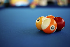 Behind the Nine Ball. (The World Beckons) Tags: toronto cne canadiannationalexhibitioncarnivalgames
