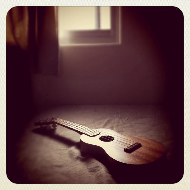 music time with ukulele…