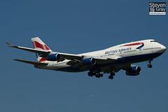 G-BNLL - 24054 - British Airways - Boeing 747-436 - Heathrow - 100617 - Steven Gray - IMG_4471