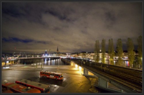 The tiny bus - Tilt Shift