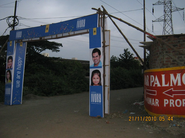 Sobha Ivory, 3 BHK Flats at NIBM-Kondhwa, Pune - arch at Kondhwa Katraj Roadd