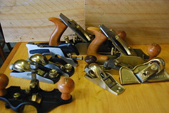 My Handplanes for woodworking (Let Ideas Compete) Tags: bronze bench hand tools collection lie planes router block shoulder tool woodworking nielsen veritas madeinamerica bronz madeintheus rabbet madeintheusa handplane handplanes smoother lienielsen concordians