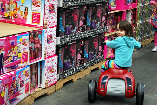 Toy Aisle at Costco