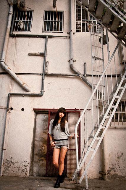 2010.11.21 郭圓圓 西門街拍