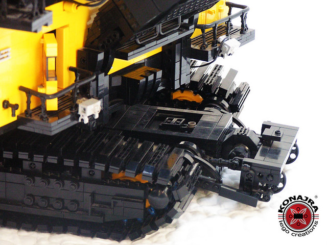 Konajra's P&H 4100xpc Electric Rope Shovel - LEGO Technic
