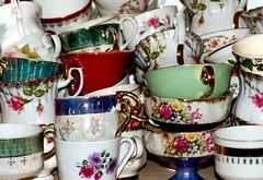 Café HoneyPie (KeTreKo) Tags: vacation café vintage cups middelburg 2010