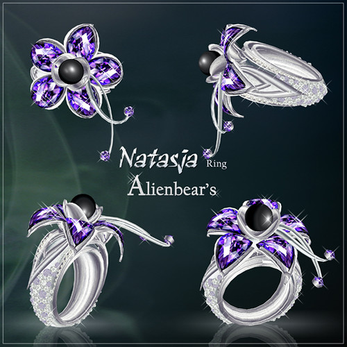 Natasja ring purple