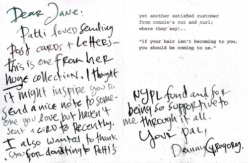 danny's note