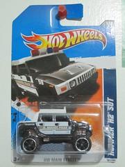2011 Hotwheels Hummer H2 SUT (Jose Michael S. Herbosa) Tags: 4x4 hummerh2sut policehummer 2011howheels