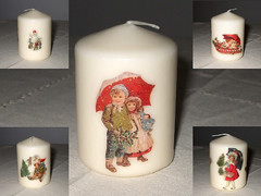 "Candle ""Vintage Winter"""