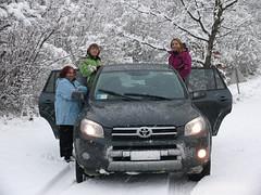 La Rav sulla neve