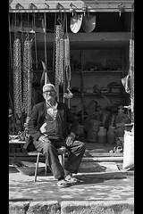 Faces of Iran 17 (Craig !) Tags: portrait bw man iran esfahan shopkeeper facesofiran