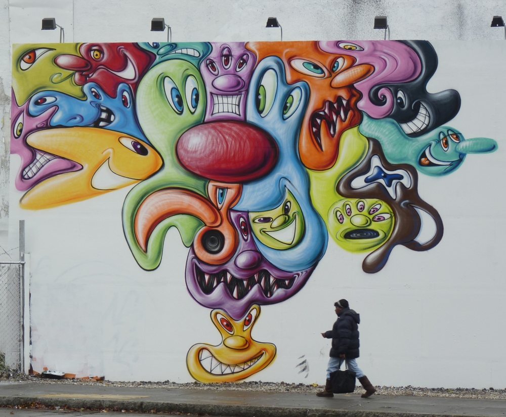 Kenny Scharf Friday Morning
