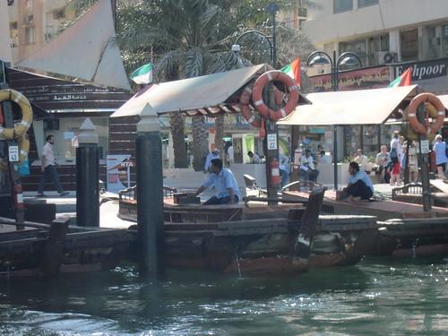On Dubai Creek