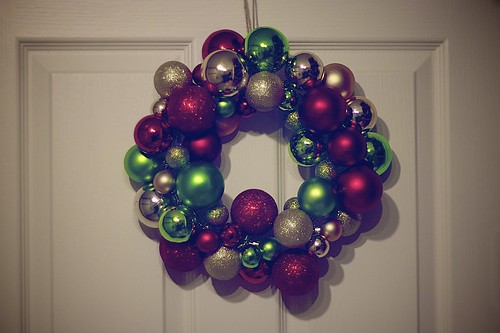 27 Days 'til Christmas - Homemade Wreath