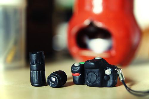 Miniature Fimo Nikon D80