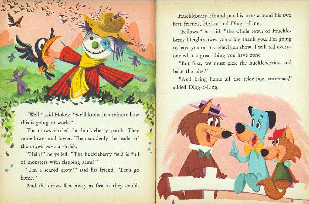 Hokey Wolf & Ding-a-Ling Featuring Huckleberry Hound012