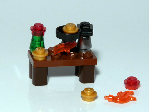 7952 - 2010 Kingdoms Advent Calendar - Day 23 - Alchemy Workbench