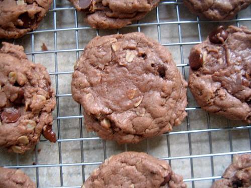 german chocolate cookies 2