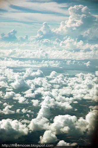 Skies above Pulaek Deang, Rayong, Thailand