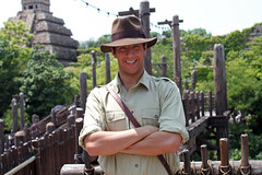 Meeting Indiana Jones!