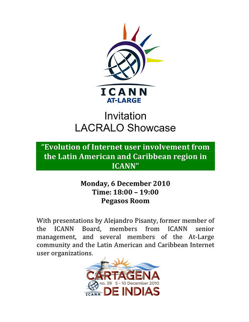 LACRALO Showcase Invitation