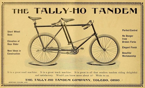 Tally-Ho Tandem Bicycle (1896)