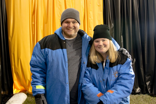 James and Arena in parkas 4x6