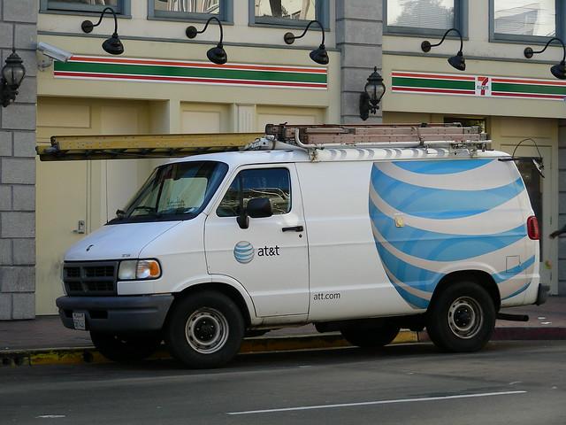 sandiego telephone dodge van ram sbc att communications telecommunications