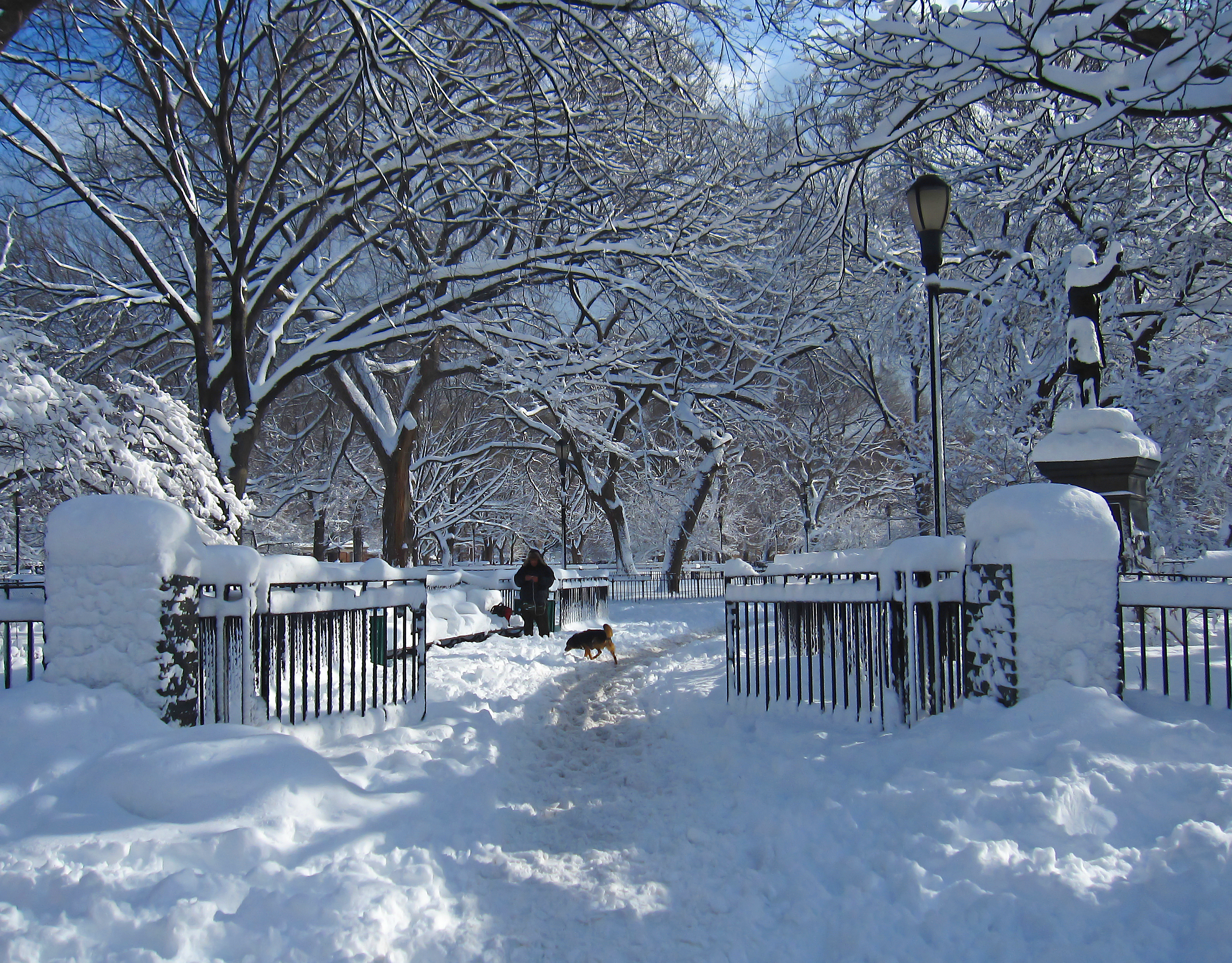 Entrance to Tompkins Square Park