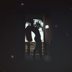 Day 4 of 365. (elliechavez) Tags: fine art selfportrait portraitphotography fineart door outerspace stars