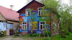 DSCF4856 (SeppoU) Tags: eesti estonia tartto tartu toukokuu may 2017 turisti tourist näpsy snapshot opas guide talo house värit colors fujifilmless finepixhs20exr