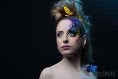 _M3_9696### (FrankCroft) Tags: albacete fashion portrait retrato mariposas butterflies redhead pelirroja frankcroft webmoda