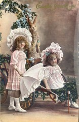 Easter (28-03-1910) (2) (Keith Pharo) Tags: greetings postcards birthday christmas easter old nostalgic nostalgia social history collecting uk england album edwardian 1900