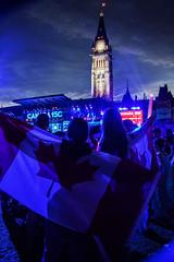 Canada 150th (lizmarteau) Tags: canada canadaday feteducanada parliament parliamenthill ottawa ontario flag mapleleaf