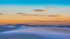 White Sands National Monument (ncamill) Tags: whitesandsnationalmonument whitesands sand newmexico landscape sunset sky dusk desert desertsouthwest travel twilight lascrucesnewmexico light nationalparks