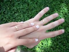 Noivinha (Lelê Breveglieri) Tags: branco casamento unha renda esmalte francesinha