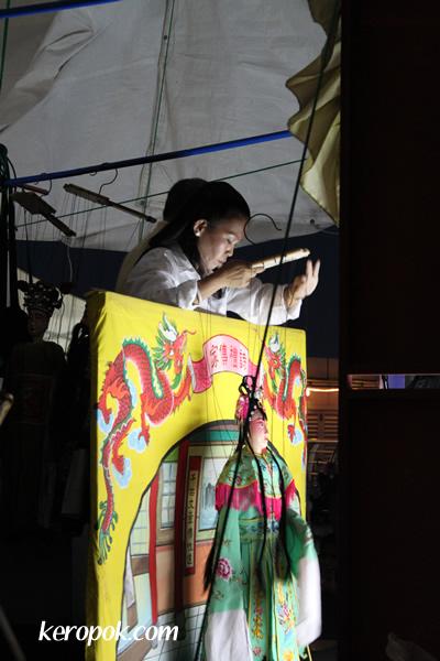 Olden Times Hokkien String Puppet Show