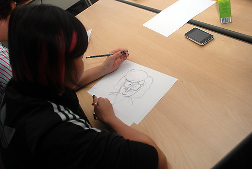 Caricature Workshop for AIA Alexandra - Day 1 - 15