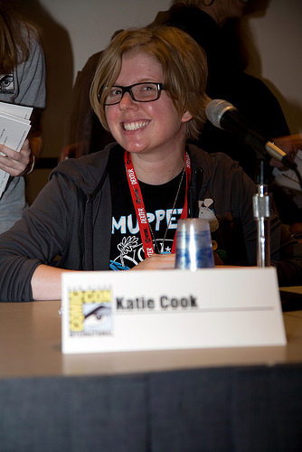 katie cook cmt. Katie Cook on the Her Universe Panel