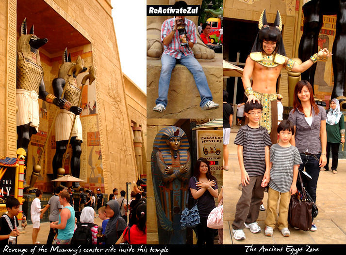 Universal Studios - Ancient Egypt