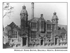 Moseley Rd greeting card