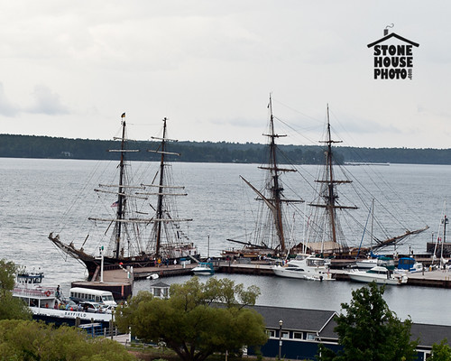 tall ships in Bayfield