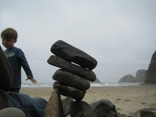 leaning tower of ocean rock