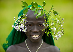 Surma kid with flowers - Tulgit Ethiopia (Eric Lafforgue) Tags: flowers boy plant flower smile kid artistic culture bodylanguage tribal ornament tribes omovalley bodypainting tradition tribe ethnic rite surma herb tribo adornment pigments ethnology tribu omo eastafrica thiopien suri etiopia ethiopie etiopa 3322  etiopija ethnie ethiopi  etiopien etipia  etiyopya  nomadicpeople      tulgit    turgit peoplesoftheomovalley