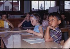 from the Family Album 06 (TommyOshima) Tags: seattle school usa me class laurelhurst 1968 kodachrome familyalbum myfathersshot