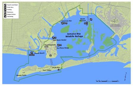 jamaica bay map