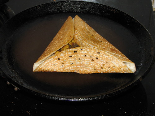 Triangle Dosa - Triangle Pancake