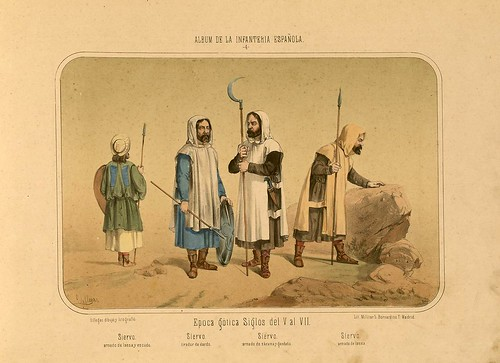 002- Álbum de la Infantería Española..-1861- conde de Clonard