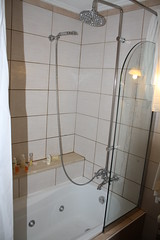 Awesome shower/jacuzi